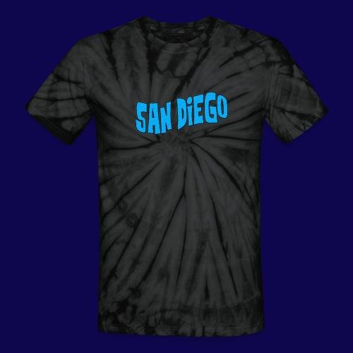 San Diego Trippy VTVM T-Shirt {Tie Dye} - Unisex Tie Dye T-Shirt