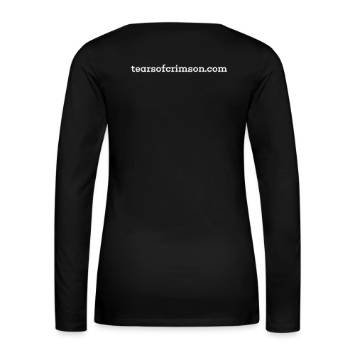 Tears of Crimson Tee 2 - Women's Premium Long Sleeve T-Shirt