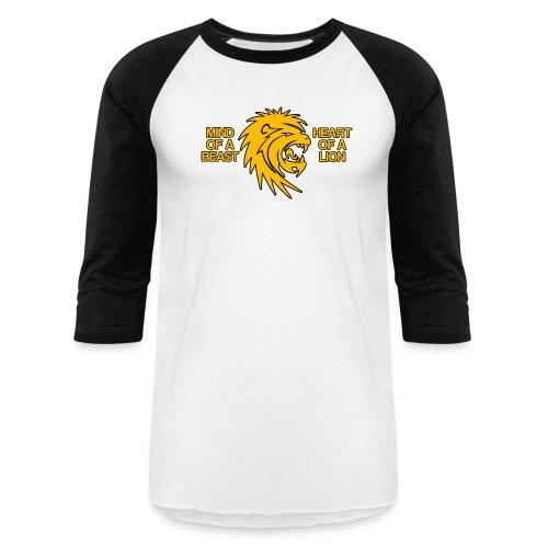 Heart of a Lion - Baseball T-Shirt
