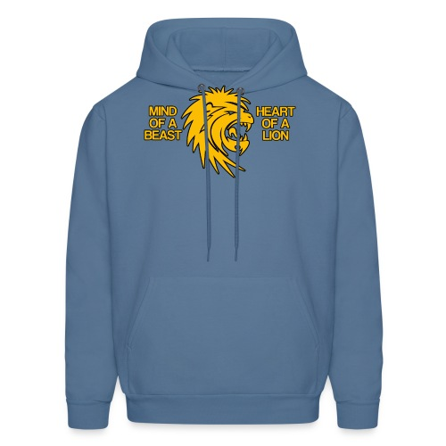 Heart of a Lion - Men's Hoodie