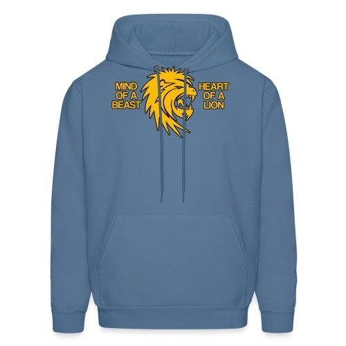 Heart of a Lion - Men's Hoodie