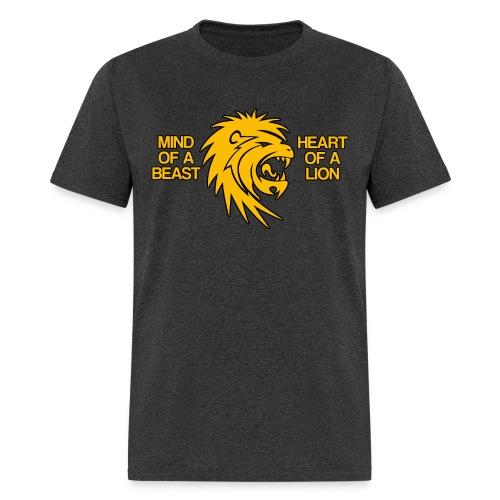 Heart of a Lion - Men's T-Shirt