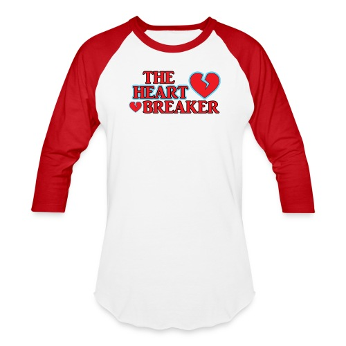 The Heart Breaker - Baseball T-Shirt