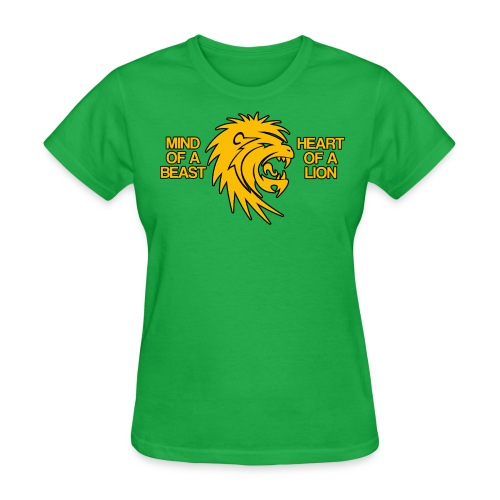 Heart of a Lion - Women's T-Shirt