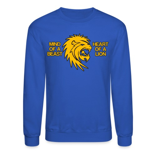 Heart of a Lion - Crewneck Sweatshirt