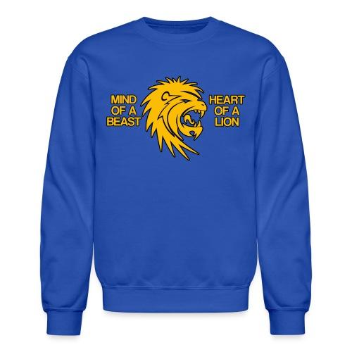 Heart of a Lion - Crewneck Sweatshirt