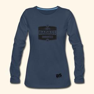Women's Premium Long Sleeve T-Shirt Bluberry - Women's Premium Long Sleeve T-Shirt