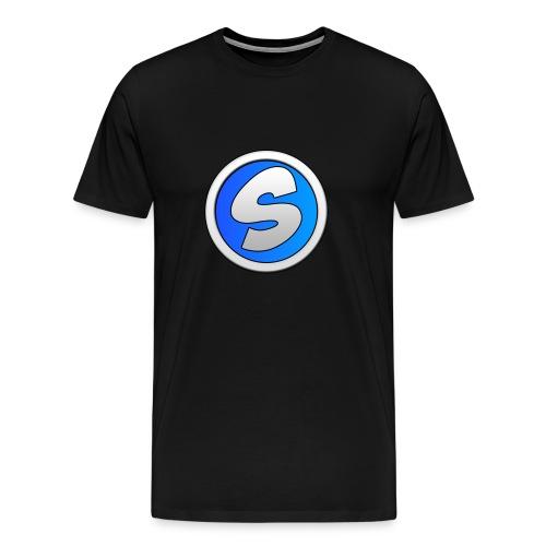 t-shirt noir sylaa - T-shirt premium pour hommes