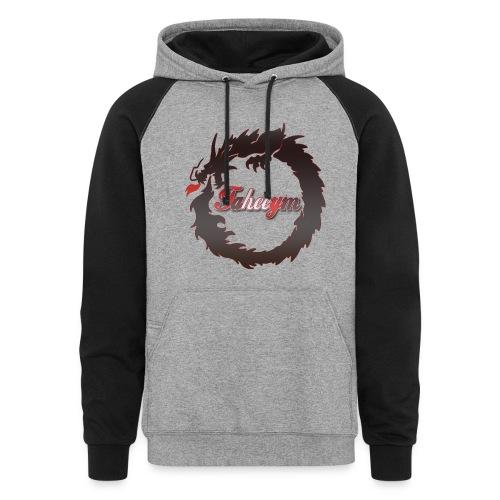 Sweater  - Colorblock Hoodie