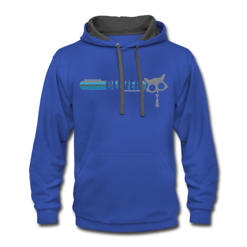 Clever Foster Parent Hoodie - Unisex Adult - Contrast Hoodie