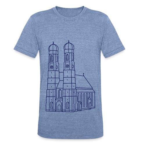 Munich Frauenkirche - Unisex Tri-Blend T-Shirt