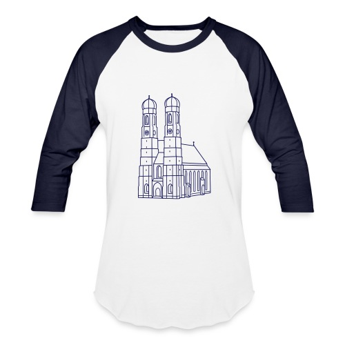 Munich Frauenkirche - Baseball T-Shirt