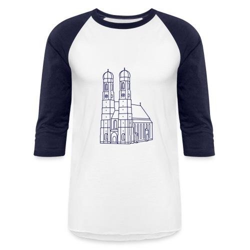 Munich Frauenkirche - Baseball T-Shirt