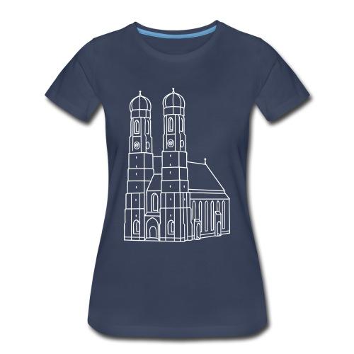 Munich Frauenkirche - Women's Premium T-Shirt