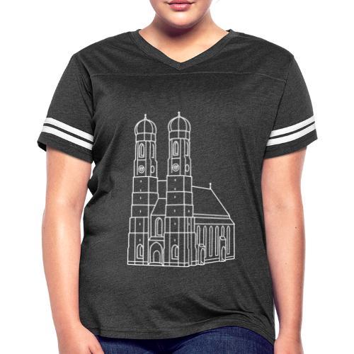 Munich Frauenkirche - Women's Vintage Sport T-Shirt