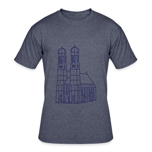 Munich Frauenkirche - Men's 50/50 T-Shirt