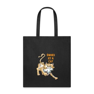 Owned by A Cat Tote - Tote Bag