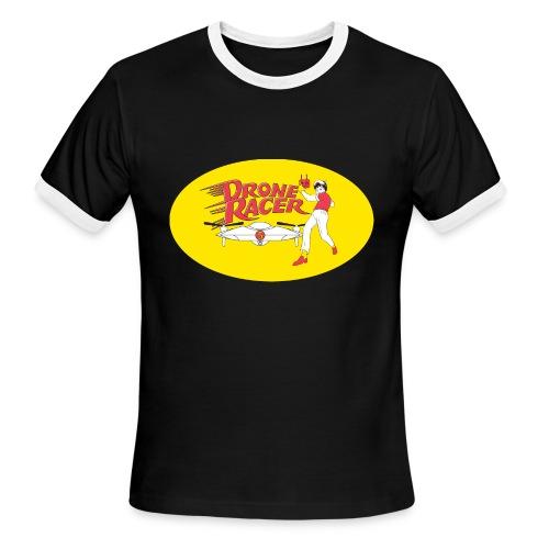 Drone Racer - Men's Ringer T-Shirt