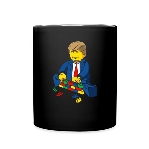 Trump Build A Wall - Full Color Mug