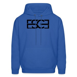 Men's Royal Blue Hoodie w/ ESCE in Black Font - Men's Hoodie