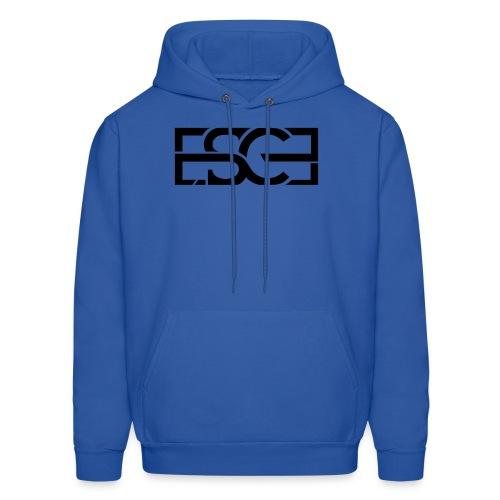 Men's Royal Blue Hoodie w/ ESCE in Black Font - Men's Hoodie