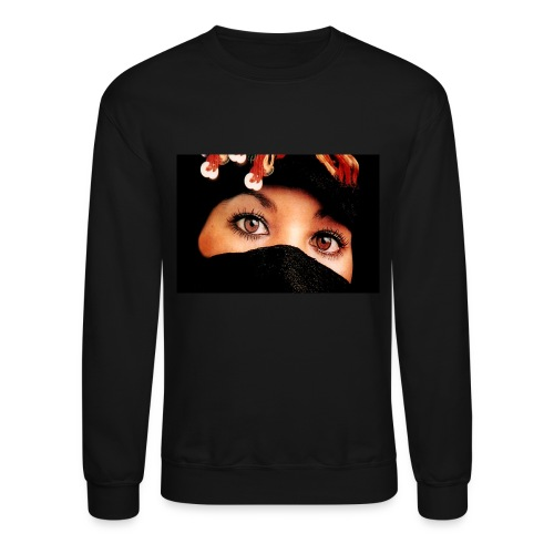 Arabic Woman Face - Crewneck Sweatshirt