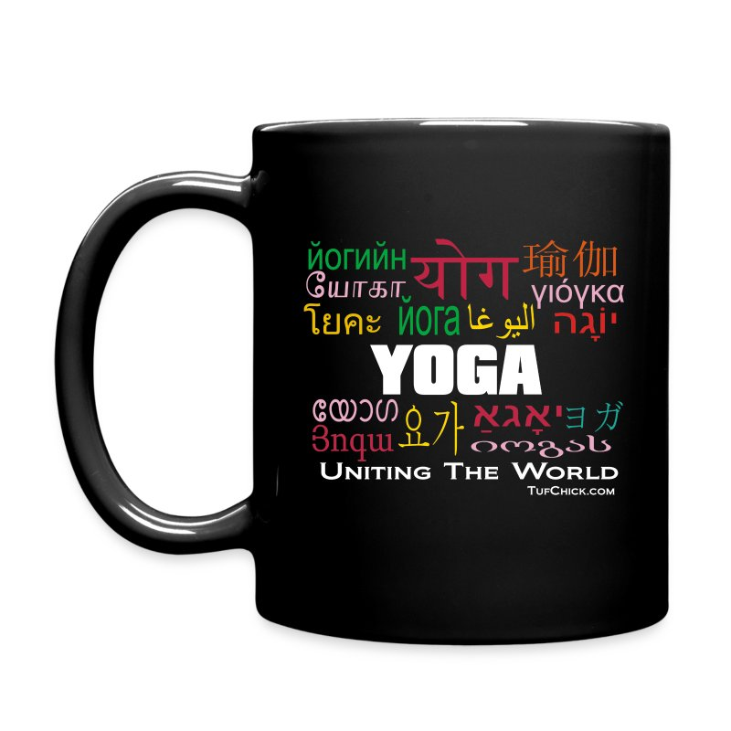 Yoga - Uniting The World Mug - Full Color Mug