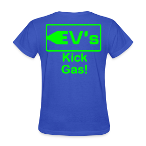 Women's Standard T- EV kicks Back - Women's T-Shirt
