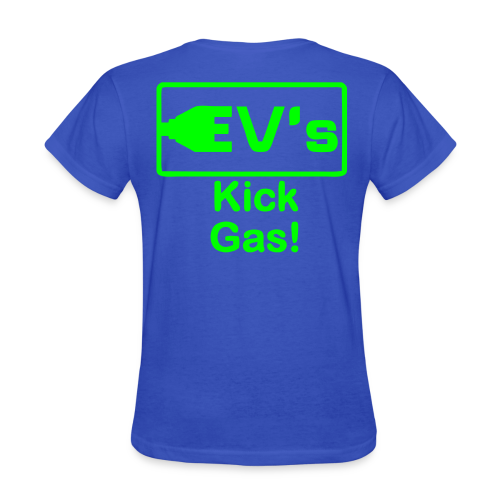 Women's Standard T- EV kicks Back - Women's T-Shirt