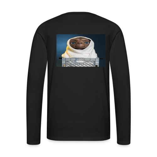 Lab E.T. back logo - Men's Premium Long Sleeve T-Shirt