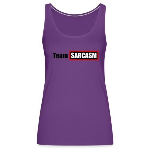 Team Sarcasm Logo - Women's Premium Tank Top