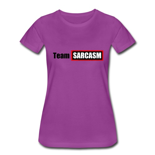 Team Sarcasm Logo - Women's Premium T-Shirt