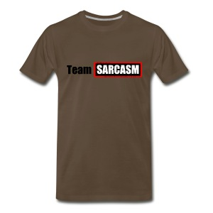 Team Sarcasm Logo - Men's Premium T-Shirt