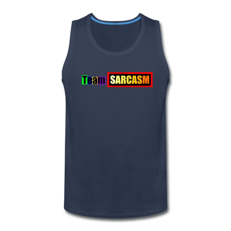 Team Sarcasm Logo (color) - Men's Premium Tank