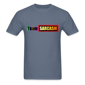 Team Sarcasm Logo (color) - Men's T-Shirt
