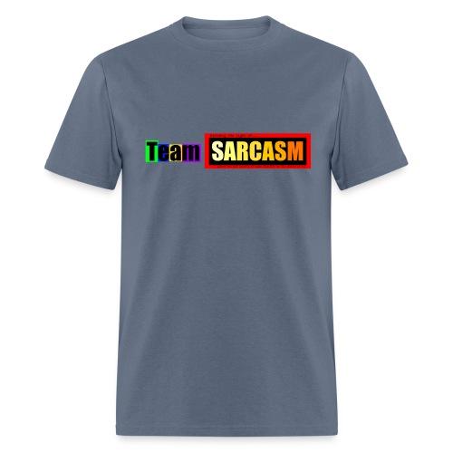 Team Sarcasm Logo (color) - Men's T-Shirt
