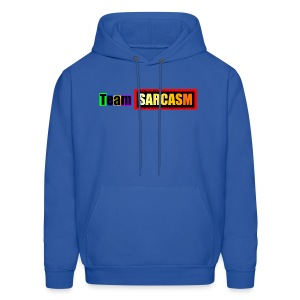 Team Sarcasm Logo (color) - Men's Hoodie