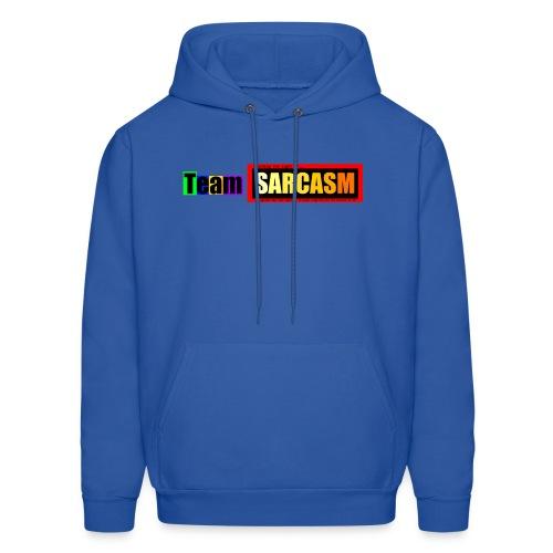 Team Sarcasm Logo (color) - Men's Hoodie