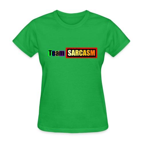 Team Sarcasm Logo (color) - Women's T-Shirt
