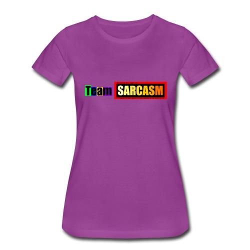 Team Sarcasm Logo (color) - Women's Premium T-Shirt