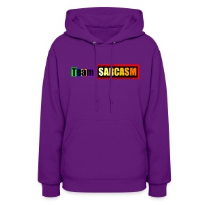 Team Sarcasm Logo (color) - Women's Hoodie