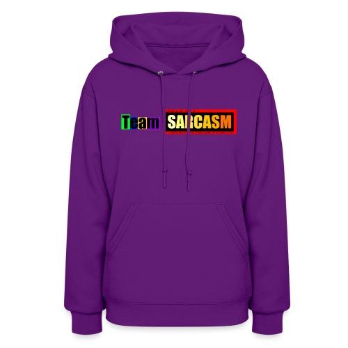 Team Sarcasm Logo (color) - Women's Hoodie