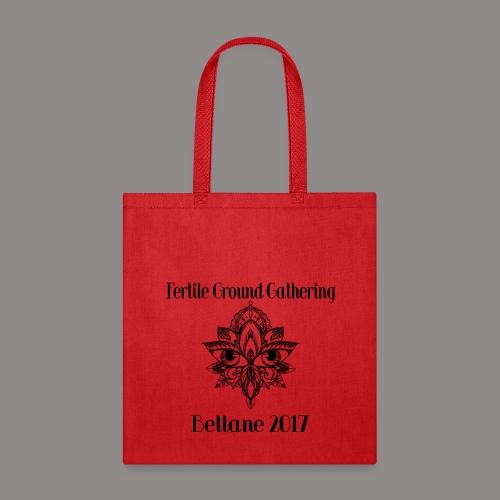 b88338a537 FGG 2017 - Canvas Tote Red Black Logo Tote Bag