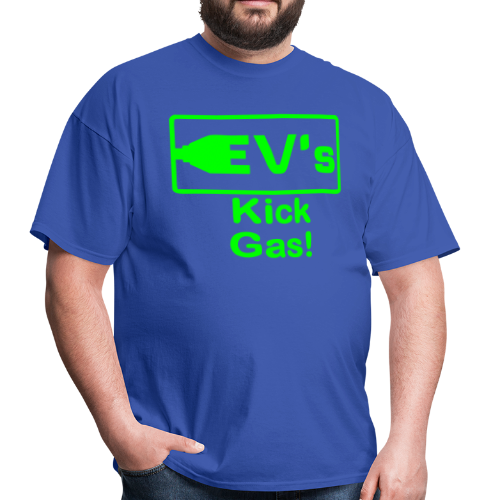 Men's Standard T- EV kicks Front - Men's T-Shirt