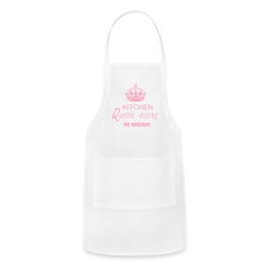 KITCHEN QUEEN RISING THE MOVEMENT  APRON - Adjustable Apron