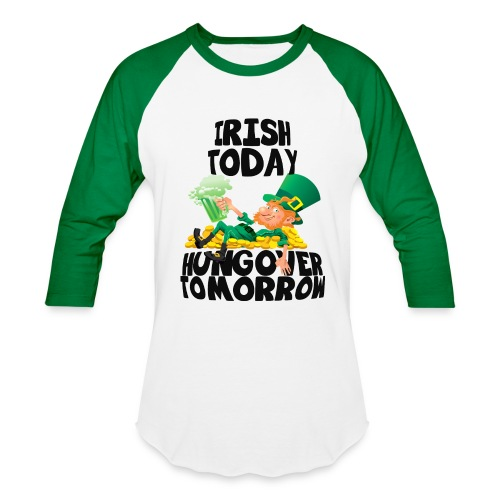 St Patricks Day Raglan - Baseball T-Shirt