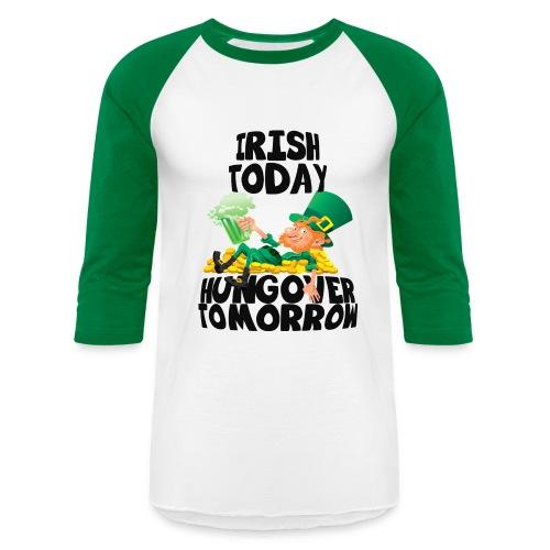St Patricks Day Raglan - Baseball T-Shirt