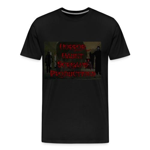 Horror Haunt Screams Productions T-shirt - Men's Premium T-Shirt