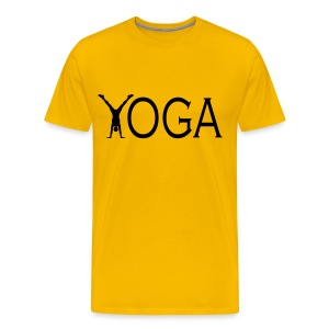 Yoga (Men's) - Men's Premium T-Shirt
