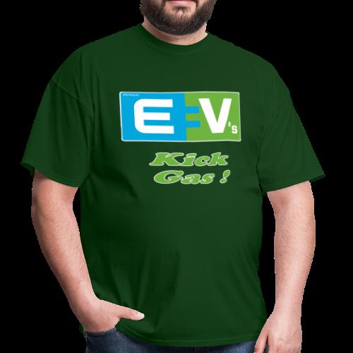 Men's Standard T- EV2 kicks Front - Men's T-Shirt